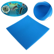 Blue/Yellow Aquarium Biochemical Filter Cotton Foam Fish Tank Sponge Water Clean Aquatic Pet Filters Aquarium Accessories C42(China)