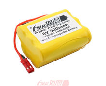 Ni-Cd AA 6V 900mAh Rechargeable Battery for Led Solar Light Backup Power Toy 5SW
