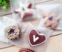 100 Pcs lot Cellophone Candy Party Packaging Bag Clear Cookie Sweet Wedding Birthday Full Stock Clearance(China)