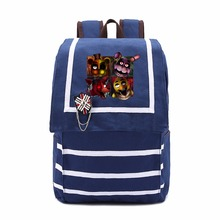 Five Nights at Freddy's Gold Freddy backpack teenagers Men women's Student School Bags travel Shoulder Bag Laptop Bags