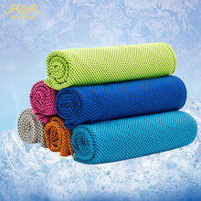 New 3PCS/Lot Creative Summer Ice Cooling Towel Cool Gym Sports Towels for Basketball Absorbent  Microfiber Fabric Free Shipping