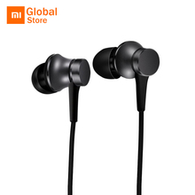 Xiaomi Piston In-ear Earphones Fresh Version Five Colors with Micphone Play Pause Control For Mobile Phone MP4 MP3 PC(China)