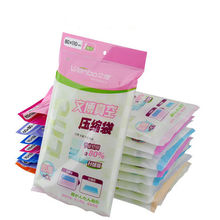2017 5 Sizes Space Saver Saving Storage Seal Vacuum Bags Compressed Organizer Full Size