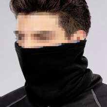 Unisex Men Winter Thicken Warm cotton Skiing Cycling Scarf Neck Warmer Face Mask Hat Snood Windproof Headgear Bonnet(China)