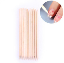 1pc 11.5cm Double Sided Nail Art Wood Sticks Cuticle Pusher Remover Nail Art Beauty Care Manicure Pedicure tools