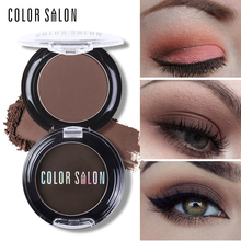 Color Salon Natural Matte Eyeshadow Palette 18 Colors Pigment Naked Eye Shadow Makeup Professional Brand Beauty Make Up Cosmetic(China)