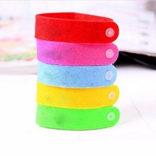2016 Hot 1PCS Anti Mosquito Bug Repellent Wrist Band Bracelet Insect Nets Bug Lock Nice Free shipping