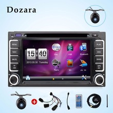 2din for toyota Car Radio Double 2 din Car DVD Player GPS Navigation In dash Car PC Stereo video Free Map Car Electronics