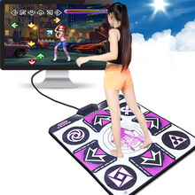 HOT 2016 New PC English menu Computer wireless USB interface single dance pad Non-Slip Dancing Step Dance Game Mat Pad for PC