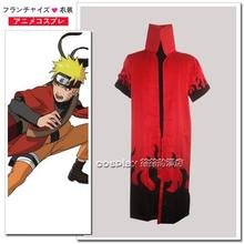 Christmas Costumes Real Adult Men Cotton Batik Disfraces Fantasia Infantil New Naruto Cloak Cosplay Clothes free Shipping(China)