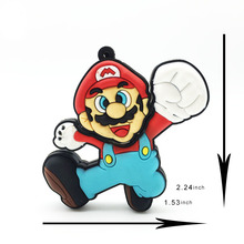 New Cute Super Mario Pen Drive 128GB 64GB 32GB 16GB 8GB 4GB USB Flash Lovely Mario Drive Pendrive for PC Flash Memory USB Key(China)