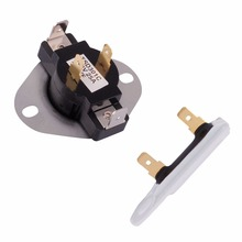 New 3387134 & 3392519 Dryer Thermostat & Thermal Fuse for Whirlpool & Kenmore Dryer AE0654
