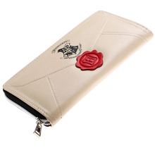 Purse Wallet Female Famous Brand Designer Long Pu Leather coin purse card holders phone wallet hot selling new arrival(China)