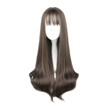 MCOSER 70CM Japan and South Korea Synthetic Hair Air Bang Mix Color Harajuku Cosplay Wig 100% High Temperature Fiber WIG-635P(China)