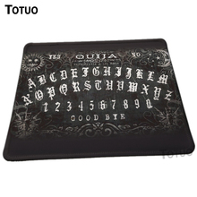 New Design Unique High Quality ouija board Pattern Desktop Pad Mousepads Computer Animation Mouse Mat Silica gel Gaming Mice Pad