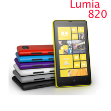 820 Original Nokia Lumia 820 phone GSM 3G 4G 4.3'' Touch 8GB Storage NFC Wifi GPS 8MP Camera Unlocked Windows Cell Phone(China)
