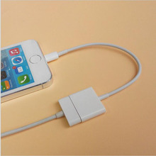 2pcs 8 Pin To 30 Pin Charger Adapter Cord For iPhone 7 6s Plus 5S ipad Mini Air ipod touch 5 6 to 4 Dock Station Charging Cable