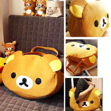 Rilakkuma Cute Big Bag Handbag shoulder Bag plush relax brown bear