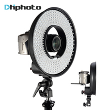 FALCON EYES DVR-300DVC Ring LED Panel Video Light 3000k-7000k Adjustable Color Video Film Continuous Light for DSLR Photography(China)