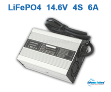 SuPower LiFePO4 LFP LFE LiFe 4S x3.2V 12V 12.8V 14.6V 6A universal Wall Socket Battery Pack Charger auto-stop AC DC Power Supply