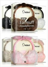 Lovely Cute Candy Colour 3.5mm Stereo Winter Girl Plush Earmuff Headphones Headset Headband Earphone Earbuds With Microphone