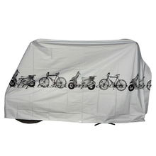 Durable Waterproof Motorcycle Cover Bike Moped Scooter Cover Dustproof Rain UV Prevention Covers 210cm x 100cm