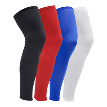 New 1 pcs Basketball knee pads Adult Football kneepads Leg brace support Sleeve knee Protector Calf Support Kneepad Sport Safety(China)