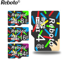 Reboto 2017 New Store High Speed Real Capacity Colorful Life 8GB 16GB 32GB Memory Card TF Card Micro SD Card 1GB 2GB 4G