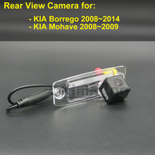 Car Rear View Camera for KIA Borrego Mohave 2008 2009 2010 2011 2012 2013 2014 Wireless CCD RCA Backup Reversing Parking Camera(China)