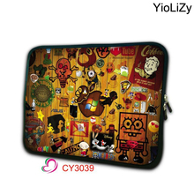 7.9 9.7 10 12 13 14 15 17 Tablet Sleeve Case Mini PC Laptop Bag 10.1 11.6 13.3 15.4 15.6 17.3 Computer Protector Cover NS-3039(China)