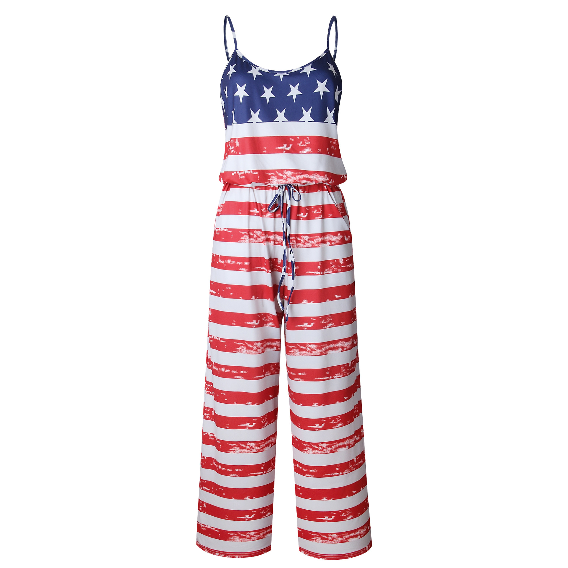 Spaghetti Strap Jumpsuit Women 2018 Summer Long Pants Floral Print Rompers Beach Casual Jumpsuits Sleeveless Sashes Playsuits 71