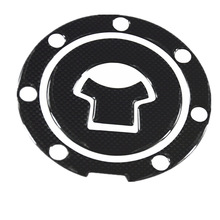 1pcs Carbon Fiber Tank Pad Tankpad Protector Sticker For Motorcycle Universal Free Shipping