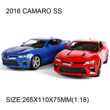 1:18 diecast car 2016 Camaro SS Supercar simulation alloy car model Toy Vehicle Car Model Maisto Models Camaro Toy Car Toys gift(China)