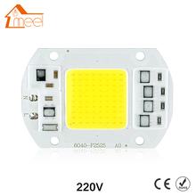 COB LED Lamp Chip 10W 15W 20W 30W 50W LED COB Bulb Lamp 220V IP65 Smart IC Driver Cold/ Warm White LED Spotlight Floodlight(China)