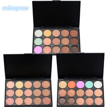 3 style Professional Palette 15 Color Concealer Facial Face Cream Care Camouflage Makeup base Palettes Cosmetic colors eyeshadow