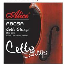 Alice A805A Cello Strings Steel Core Nickel Chromium Wound Nickel-Plated Ball-End(China)