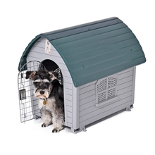 Domestic Delivery Dog Kennel Removable Pet Kennel Outdoor Indoor Dog House Easy Build Up Puppy Dog Cat Hole Pet Supplies(China)