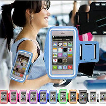 Fashion Workout Cover Sport Case For Apple IPod Touch 3 4 5 6 5C Plus Waterproof Casual Running Riding Pouch Case Arm Band(China)