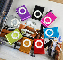 Portable Metal Clip MP3 Player with 8 Candy Colors No Memory Card Music Player