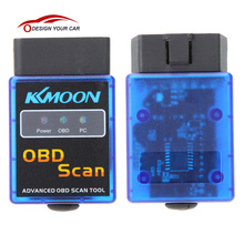 Kkmoon V2.1 Mini Bluetooth ELM327 OBDII OBD-II OBD2 Protocols Auto Diagnostic Tool Universal Car Scanner for JP EU US Cars(China)