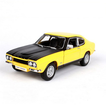 Kids toys 1:32 Scale car model in 1970 ford capri RS2600 toy cars model Decoration Diecast Car Models Toys for boy gift