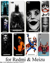 Batman movies the joker jack Hard Case for Meizu M3 M2 M5 Note mini m5s m3s mini U10 U20 Pro 6 M2 M3 NOTE fundas Cover