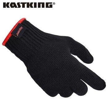 Kastking 1 unid completo dedo guantes de pesca para los hombres, las mujeres, niños Más Alta Calificación de Seguridad Guantes Resistentes Al Corte