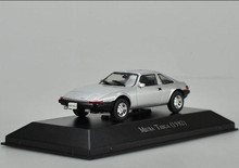 High simulation IXO MIURA TARGA (1982), 1: 43 alloy sports car model, static model, metal casting toy vehicle, free shipping