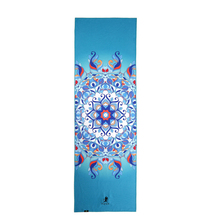 Skidless custom printed Ultra Absorbent recycable microfiber yoga towel for Fitness Exercise Sports Outdoors(China)