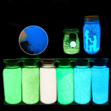 Colorful Fluorescent Super luminous Particles Glow Pigment Bright Glow Sand Glow in the Dark Sand Home Decor Party Xmas