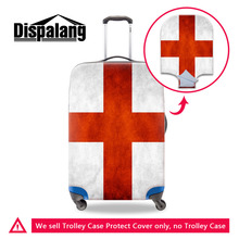 National Flag Series Travel Luggage Protective Cover for 18-30 inch Trolley Case Elastic Strech Suitcase Dust Cover with Zipper(China)
