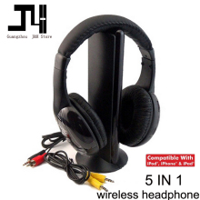 2017 Wireless Headphones Headset MH2001 MP3 MP4 PC CD DVD Audio TV FM Radio Earphones & Headphones