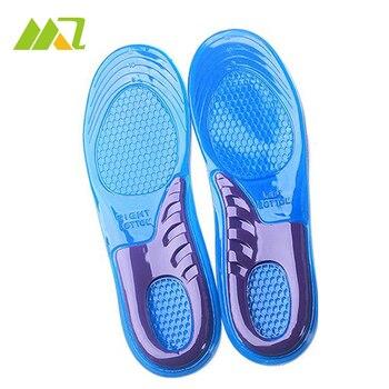 Гелевые стельки для обуви Женщины Гель Ортопедических Кроссовки Стельки Вставить Pad Арка Поддержка Подушка US6-9