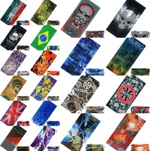 20 Styles Variety Turban Magic Headband Veil Multi Mask Cap Head Scarf Scarves Face Mesh Skull Bandanas